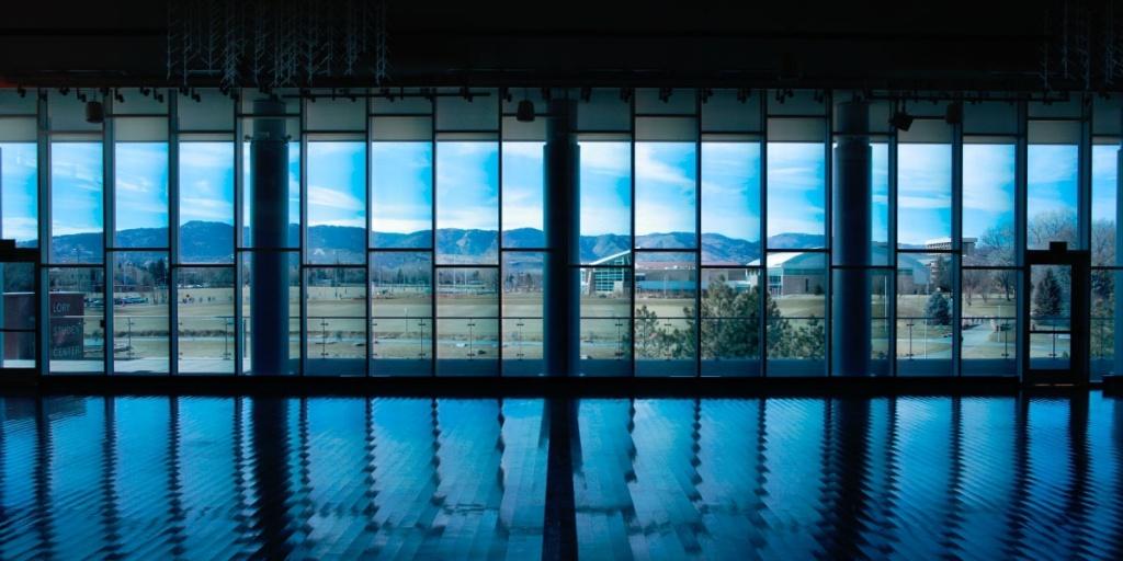 Les fenêtres avec des vitres intelligentes