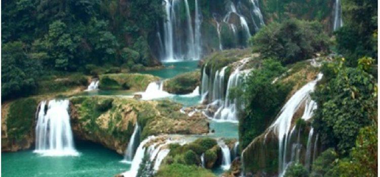 Les belles cascades à Da Lat