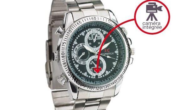 Acheter une montre caméra pour surveiller une personne